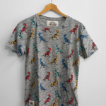 Worn By【T-REX PRINT T-SHIRT -ROCK N ROLL PRINTS-】(15B-1-RH-0633)