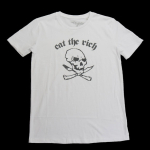 1989 DEE DEE RAMONE EAT THE RICH T-shirt(16B-1-RH-0809)