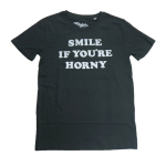 1980 TOMMY CHONG SMILE IF YOU'RE HORNY T-shirt
