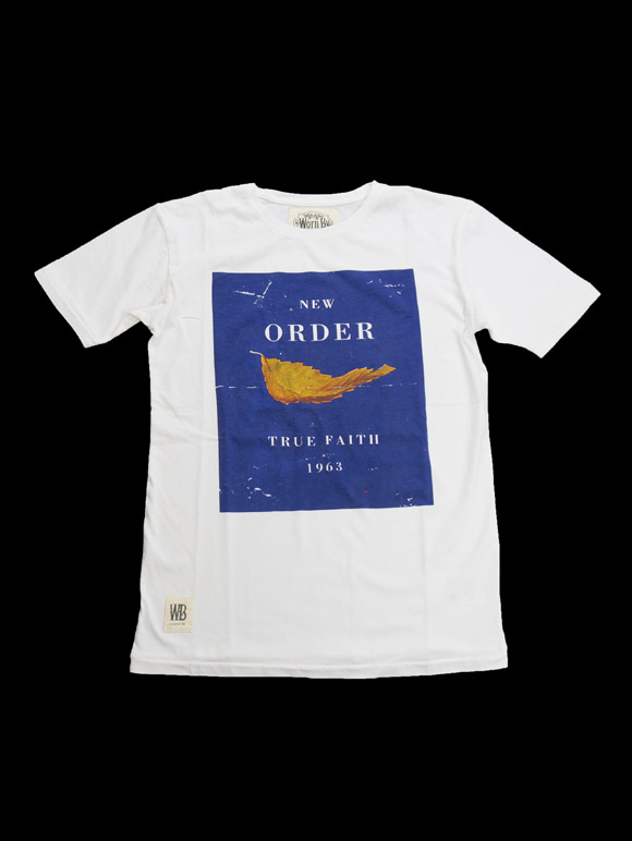 NEW ORDER TRUE FAITH T-shirt(16B-1-RH-0761)